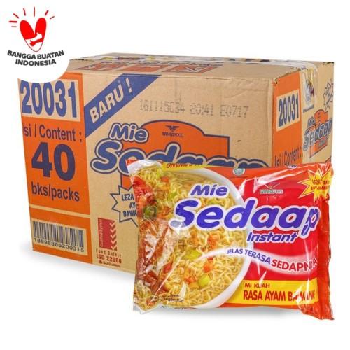 Foto Produk MIE SEDAAP Kuah Rasa AYAM BAWANG Mi Sedap HARGA HEMAT 10 bungkus! dari 3F Retail