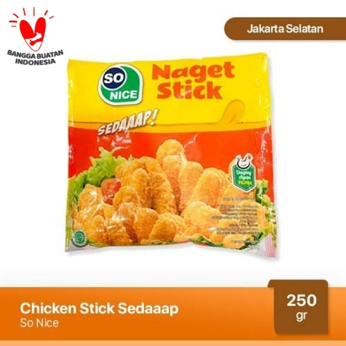 Foto Produk Nugget Ayam Stick Sedap So Nice 250 gr dari Japfa Best Jakarta