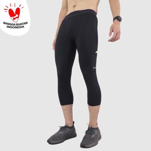 Foto Produk Atalon 3/4 Compression Tights - Hitam, M dari Atalon Sportswear