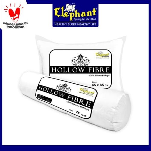 Foto Produk 1 Set Bantal dan Guling Hollow Fibre (Hollow Siliconized Fiber) dari Elephant Springbed