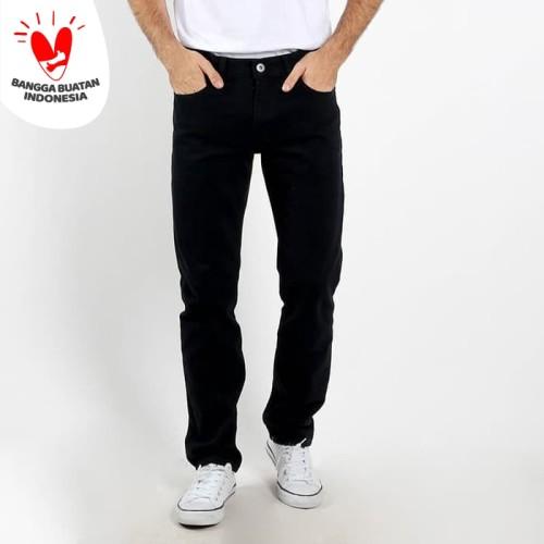 Foto Produk Edwin Celana Jeans Vegas Black Reguler Fit Pria Panjang Black - 31 dari Edwin Jeans