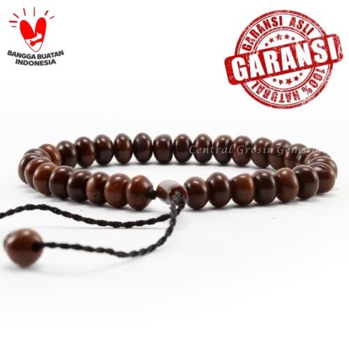 Foto Produk Gelang Tasbih Kaukah Instanbul Turki Model Donat Original - Cokelat dari Central Grosir Gemstone