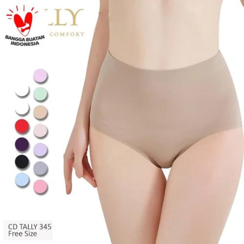 Foto Produk TALLY CD 345 Celana Dalam Seamless Tanpa Jahitan Anti Nyeplak dari Tally Official Store
