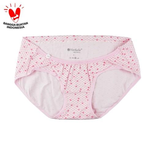 Foto Produk Nathalie Celana Dalam Maternity Underwear Mini Panty 1 Pcs NTC 3273 - Merah Muda, XXL dari Flyman Nathalie Store