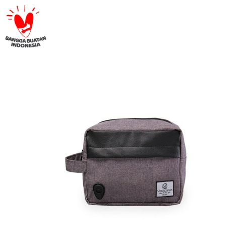 Foto Produk Pouch Bag | Travel Kit | Most Wanted Items! - Abu-abu Muda dari Woodbags Store