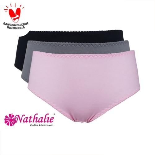 Foto Produk Nathalie Underwear Midi Perfect Panty Celana Dalam NTC 3116 1Pack Isi3 - M dari Flyman Nathalie Store