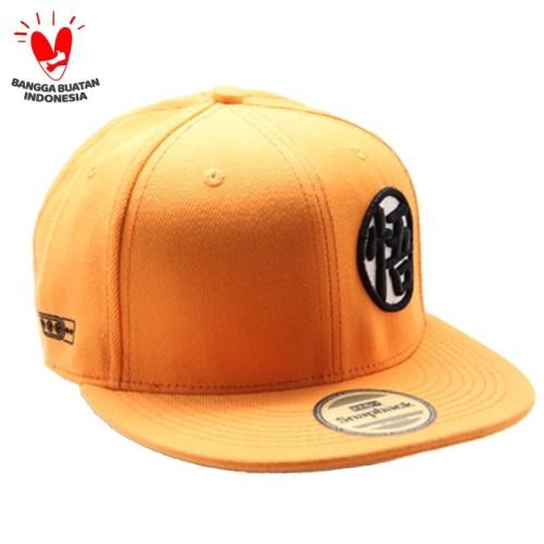 Foto Produk Snapback Topi Hiphop Dewasa Orange Dragon Ball Sbr10038org dari Snapback