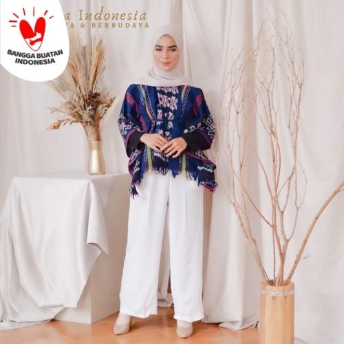 Foto Produk Blouse Etnik Tenun Ikat Dakara Indonesia dari Dakara Indonesia