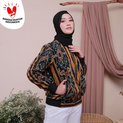 Foto Produk Manaka Jaket Etnik Tenun Ikat - Dakara Indonesia DI001 dari Dakara Indonesia