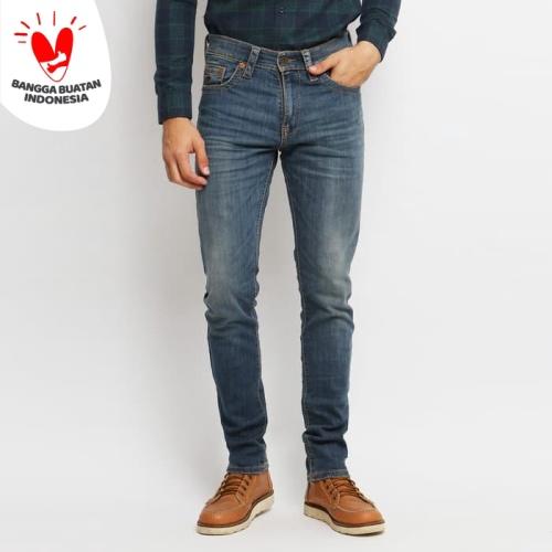 Foto Produk ENERGIE Jeans Pria Original - Darwin Jeans Slim Fit - Biru, 29 dari VENGOZ