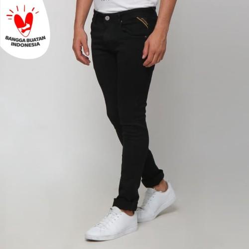 Foto Produk Boy London Celana Jeans Pria Original - Black Slim Fit - Hitam, 29 dari VENGOZ