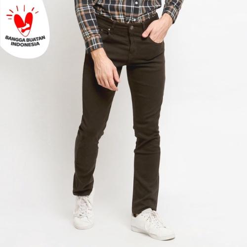 Foto Produk Boy London Celana Jeans Pria Original - Dark Brown Slim Fit - Cokelat, 29 dari VENGOZ
