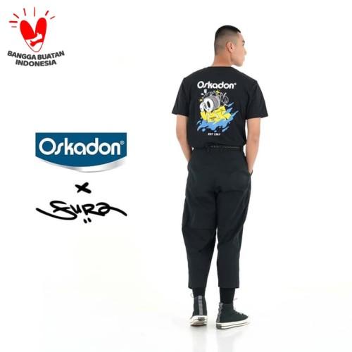 Foto Produk TAGS KAOS OSKADON FURA NJEBLUG BLACK - NEW COLLECTION - L dari TAGS Indonesia