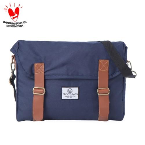 Foto Produk Woodbags Singaporean Bag S2 | 3 Pilihan Warna | NEW SEASON!!! - Navy dari Woodbags Store