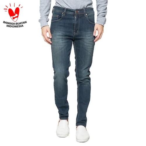 Foto Produk 2Nd RED Jeans Pria Celana Jeans Slim Fit Best Seller Blue Grey 133221 - Biru, 30 dari 2nd RED Jeans