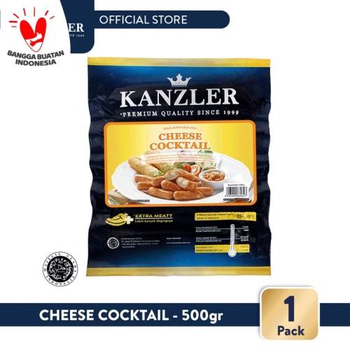 Foto Produk 1 Pack - Kanzler Sosis Cheese Cocktail 500gr dari Kanzler Official Store