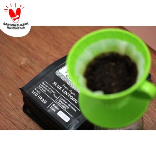 Foto Produk KOPI ARABIKA BLUE LINTONG 500GR BIJI / BUBUK SPECIALTY ARABICA COFFEE - BIJI KOPI dari TAGETTO COFFEE