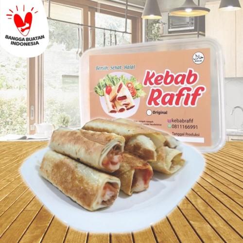 Foto Produk Kebab Rafif - Kebab Instan Frozen -10pc dari Indonesia Mall