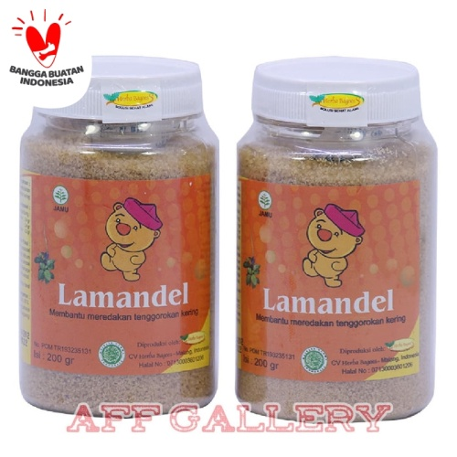 Foto Produk LAMANDEL Bubuk Obat Herbal Atasi Amandel | Kemasan Botol dari AFF GALLERY