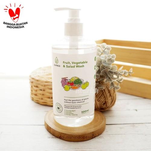 Foto Produk Pureco Fruit, Vegetable & Salad Wash 500 ml dari Nourish Indonesia