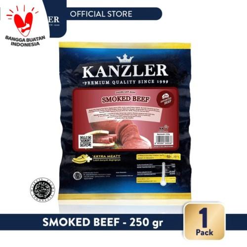 Foto Produk 1 Pack - Kanzler Smoked Beef 250gr dari Kanzler Official Store