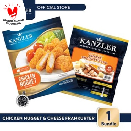 Foto Produk 1 Bundle - Chicken Nugget & Cheese Frankfurter dari Kanzler Official Store
