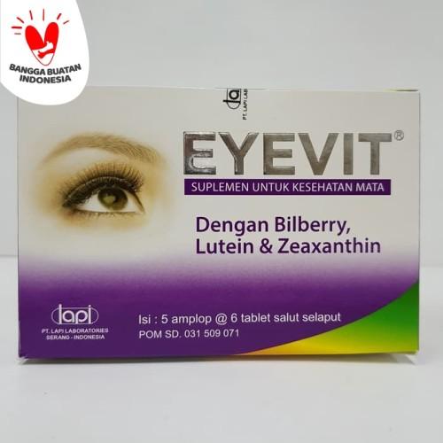Foto Produk EYEVIT tablet isi 30 dari Apt Mega Jaya