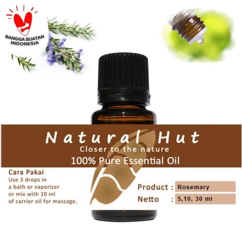 Foto Produk 100% PURE ESSENTIAL OIL (ROSEMARY) - 10ml dari Natural Hut