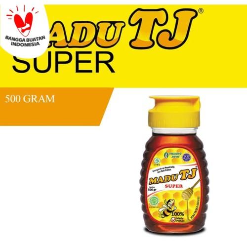 Foto Produk Madu TJ Super 500 gr ( dengan tambahan Royal Jelly dan Bee Pollen) dari Ultra Sakti