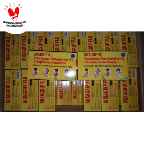 Foto Produk Mixagrip Flu Tablet 1Box dari Apt Sentosa