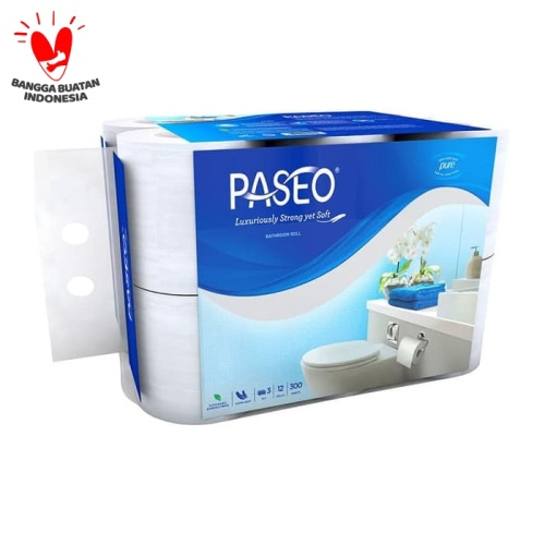 Foto Produk Tissue Paseo Elegant Toilet Roll / Tissue WC 12 Roll - 12Roll dari Viekoshop