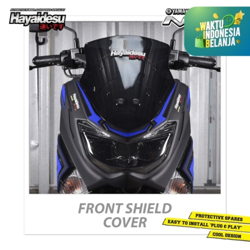 Foto Produk Hayaidesu NMAX Front Shield Body Protector Cover - Biru dari Hayaidesu Indonesia