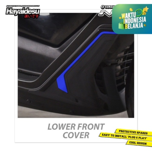 Foto Produk Hayaidesu NMAX Lower Front Body Protector Cover - Biru dari Hayaidesu Indonesia