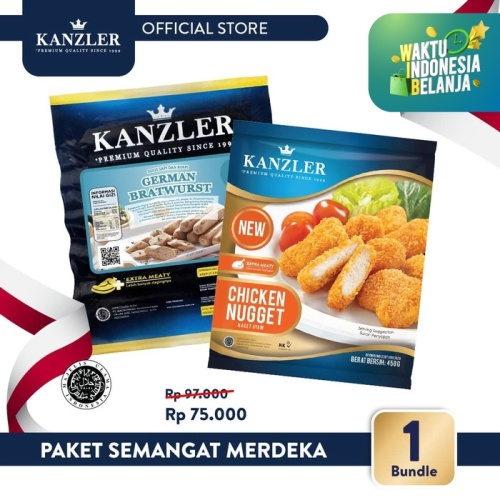 Foto Produk Kanzler Paket Semangat Merdeka dari Kanzler Official Store