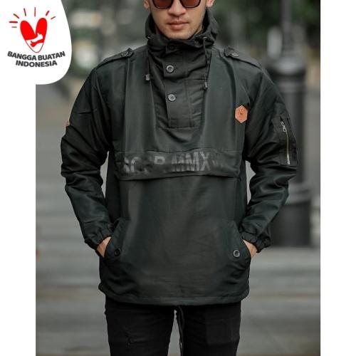 Foto Produk Jaket Cagoule Premium / Jaket Motor - Hitam dari Almondshop_