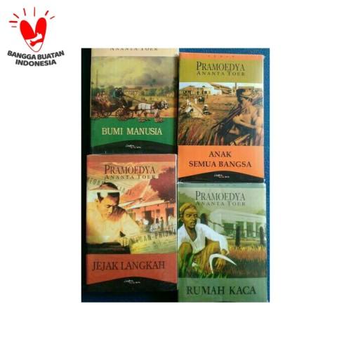 Foto Produk Tetralogi Pulau Buru / Tetralogi Bumi Manusia - Pramoedya Ananta Toer dari AD_Bookstore