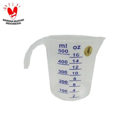 Foto Produk gelas takar 500ml dari TOKO BKS(BAHAN KUE SBY)