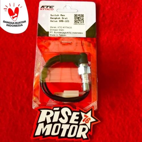 Foto Produk Switch master rem Ktc Kytaco drat halus bengkok dari risemotor