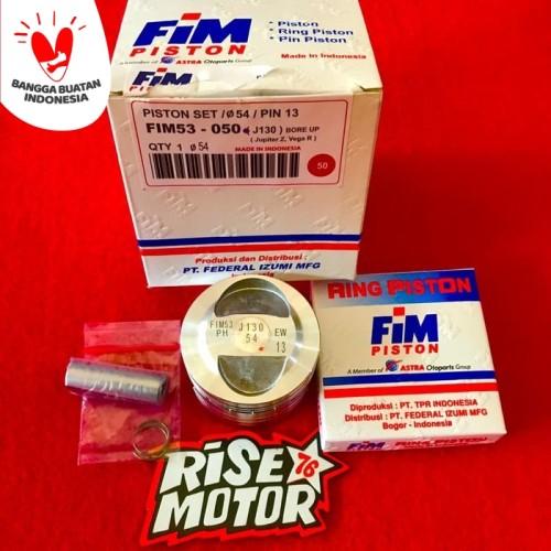Foto Produk Piston Fim 54 pen 13 jupiter dari risemotor