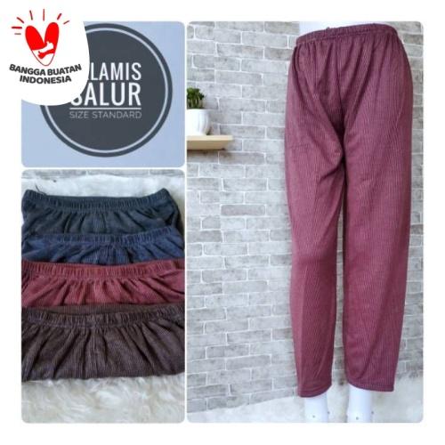 Foto Produk Celana Wanita Celamis ALADIN Garis SALUR Los JUMBO dari Benthang Cloth