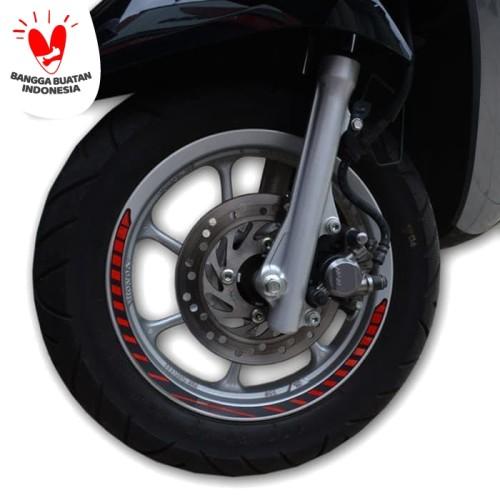 Foto Produk Sticker Velg Merah - Scoopy New K93 (871X0K93A00RED) dari Honda Cengkareng