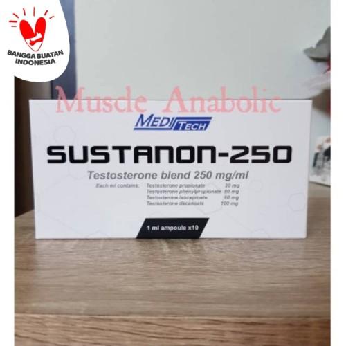 Foto Produk Sustanon Meditech ecer organon per satu ampul testo blend testosteron dari Muscle Anabolic