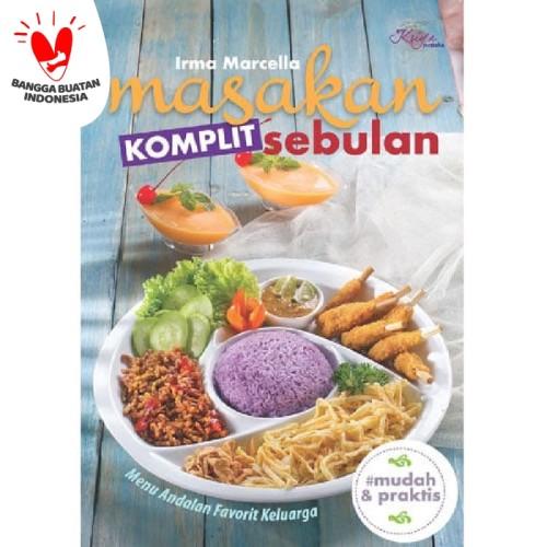 Foto Produk Buku Resep MASAKAN KOMPLIT SEBULAN - Menu Makanan Komplet 1 bulan Enak dari Sahabat Buku Anak