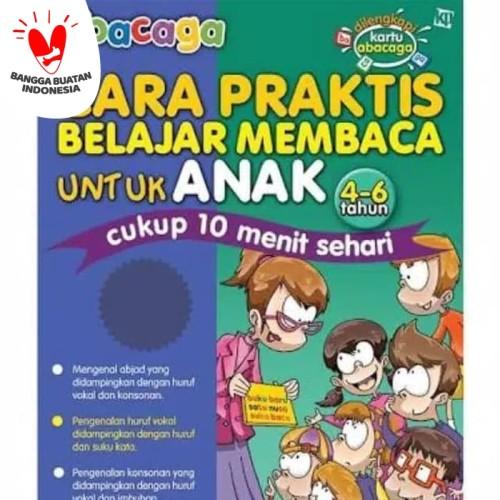 Foto Produk Buku Abacaga Cara Praktis Belajar Membaca Untuk Anak 4-6 Tahun dari Kinantikomik