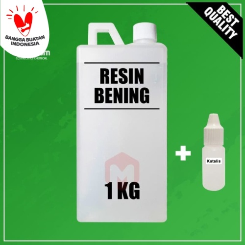 Foto Produk Resin Bening 1 Kg + Katalis 15 mL dari Maximum Chemical