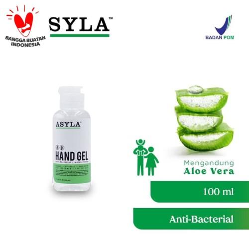 Foto Produk ASYLA Hand Gel 100ml - Hand Sanitizer dari ASYLA OFFICIAL STORE