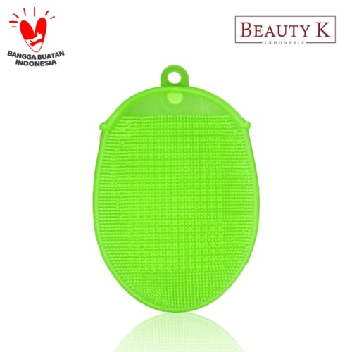 Foto Produk BeautyK Eco Silicone Beauty & Body Shower Towel Green dari BeautyK Indonesia