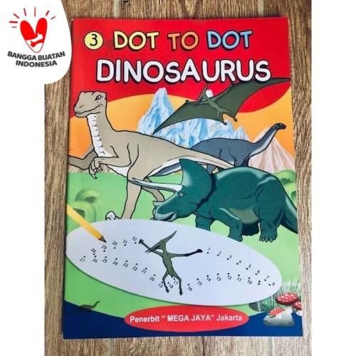Foto Produk Buku Dot To Dot Dinosaurus - Menghubungkan Garis Melatih Motorik Anak dari Kinantikomik