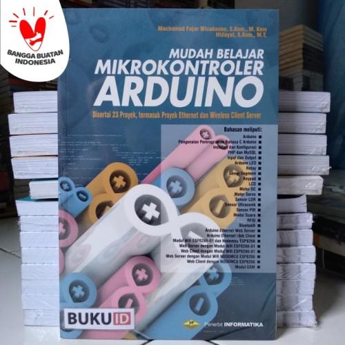 Foto Produk Buku Mudah Belajar Mikrokontroler Arduino dari Buku ID