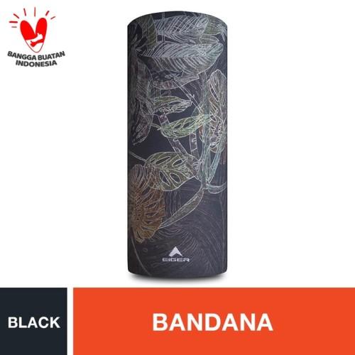 Foto Produk Eiger Borneo 4Rest Bandana - Black dari Eigerindo Store